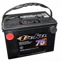 Аккумулятор 75A/h боковые клеммы 630A